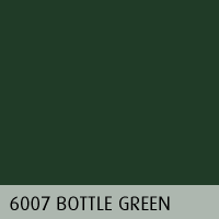 RAL color 07 bottle green