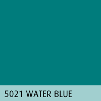 RAL color 09 water blue