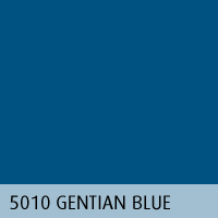 RAL color 11 gentian blue